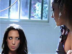 Bad chick Capri Cavanni gets disciplined by Dani Daniels