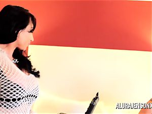 Alura Jenson milf threesome shag with Brandi May