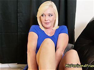 My Seducing soles with Ms Paris Rose