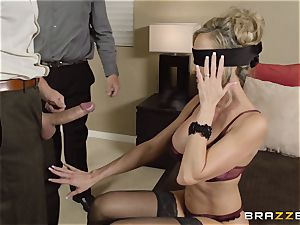 The hubby of Brandi enjoy lets her pound a different boy