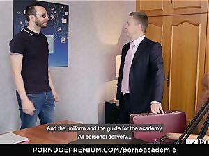 porn ACADEMIE Lana Rhoades likes humping French knob