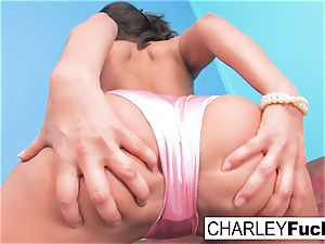 Charley's lubed Up with joy buttons