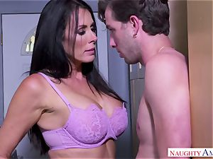 huge-titted mom loves sex