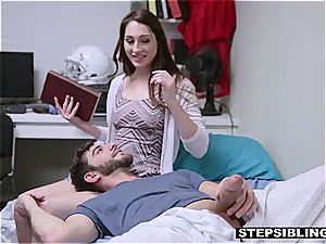 torrid hump with a insatiable redhead stepsister