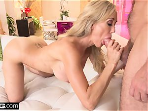 pumping out Brandi love loves having a manmeat in her pussy
