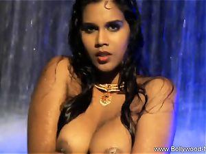 brunette stunner From nasty India