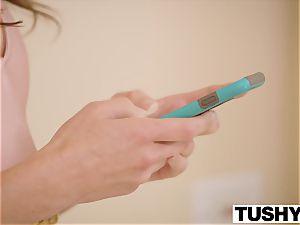 TUSHY Riley Reid and Adriana Chechik anal invasion gapes