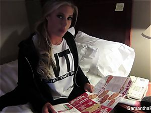 naked via America with Samantha Saint in Milwaukee