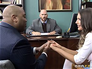 delectable August Ames gets drilled by the dean