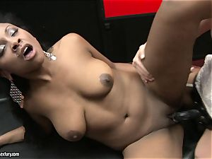 harsh Kathia Nobili thrusts her wire on penis deep down her partner mouth