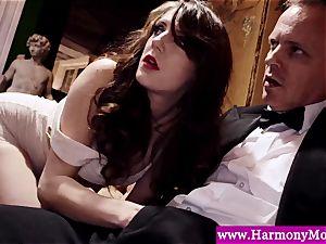 Servants giving a sexshow for their deviant educators