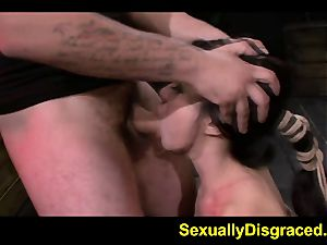 kinky Kimmy Lee pushed to ejaculation