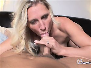 Devon Lee is loving her man's whip tucked in her saucy mouth