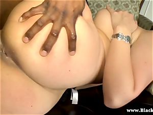 Sarah Vandella rigid bi-racial screw