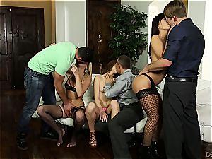 birthday gang intercourse surprise