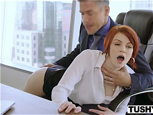 TUSHY Bree Daniels first-ever anal invasion hump episode