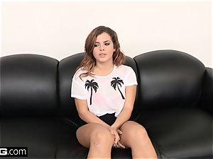 penetrate casting Keisha Grey Has Her first-ever harsh ass-fuck plumb