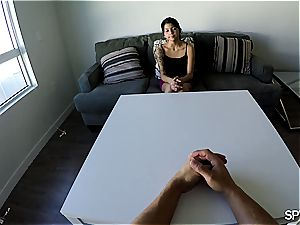 Spy pov - Assisting the chief with ejaculation