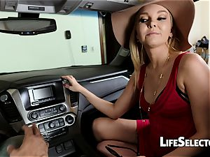 cocky milf Aaliyah love gives a oral pleasure in your car