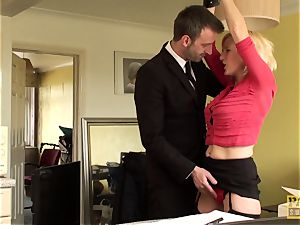 Mature uk marionette gets manacled and dominated over