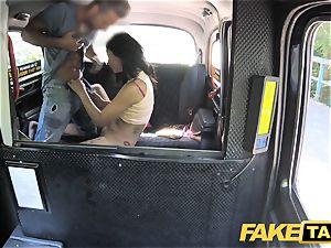 faux cab beautiful Thai damsel with pierced cunny lips