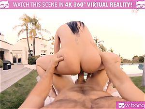 VRBangers Jackie man sausage fuck-fest massage with glad completing