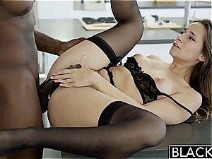 BLACKED My girlfriends super hot sista Cassidy Klein luvs big black cock