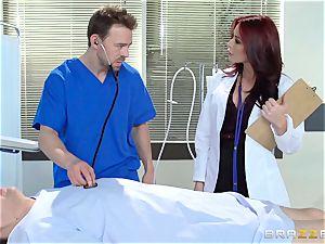 wonderful medic Monique Alexander porks her trainee