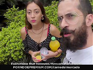CARNE DEL MERCADO - tasty Colombian fuckbox plowed hard