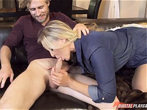 Julia Ann puss crammed on mothers day