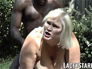 LACEYSTARR - grannie asking for young black beef whistle