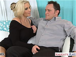 super-hot wifey Phoenix Marie gets rosy beaver pounded