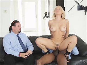 thirsty wife Sarah Vandella gets her appetite suppressed by bbc