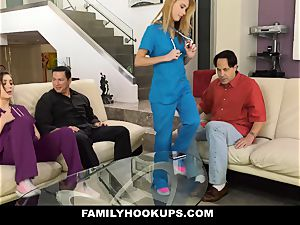FamilyHookUps - insane teenager plows parent pal