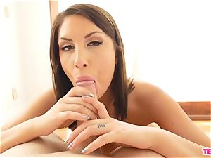 August Ames wanks slowly And Closely