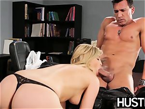 nasty Alexis Texas drains all the cum from her counterpart