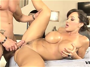 stunning mummy Lisa Ann has a taste for mexican meat