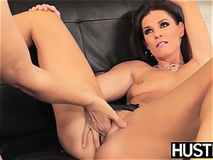 unbelievable Julia Ann vagina toyed toughly by big-titted dyke