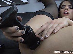 outstanding Adriana Chechik brutish faux-cock blooming