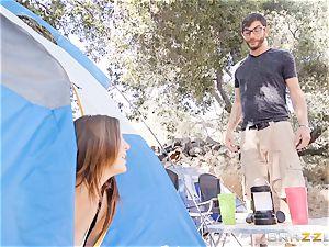 jizzswapping camping beauties Karlee Grey and Jojo smooch