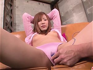 audition for porn finishes with serious delights for Yuika