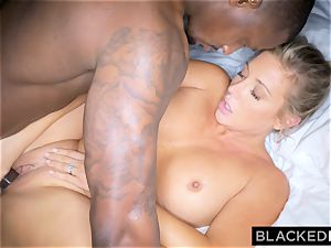 BLACKEDRAW blondie trophy wife Cucks Her hubby With bbc