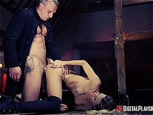 arousing Natalia Starr is saving the universe with buttfuck