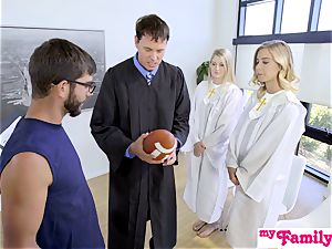 Church stunner ravages step-brother Behind Dads Back! S1:E4