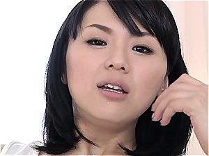 Nippon tramp is a real cock-gobbler