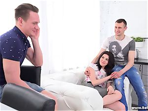 Sell Your girlfriend - Lindsey Vood - watching girlfriend take massive meatpipe