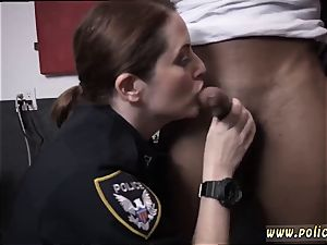 youthfull ash-blonde threesome and chubby loving moist movie grabs cop porking a deadbeat dad.