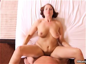 All inborn cougar luvs anal pummeling point of view