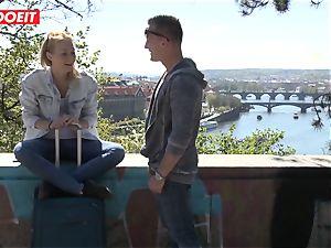 Russian babe torn up hard By Czech dick - LETSDOEIT