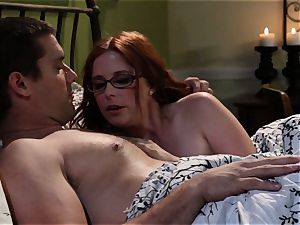 bashful waitress Penny Pax pulverizes her desire customer